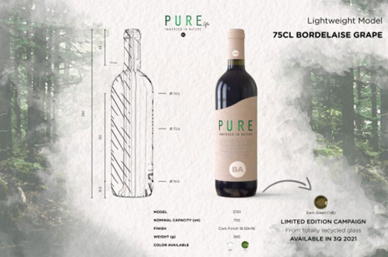 BA Glass apresenta a marca Pure