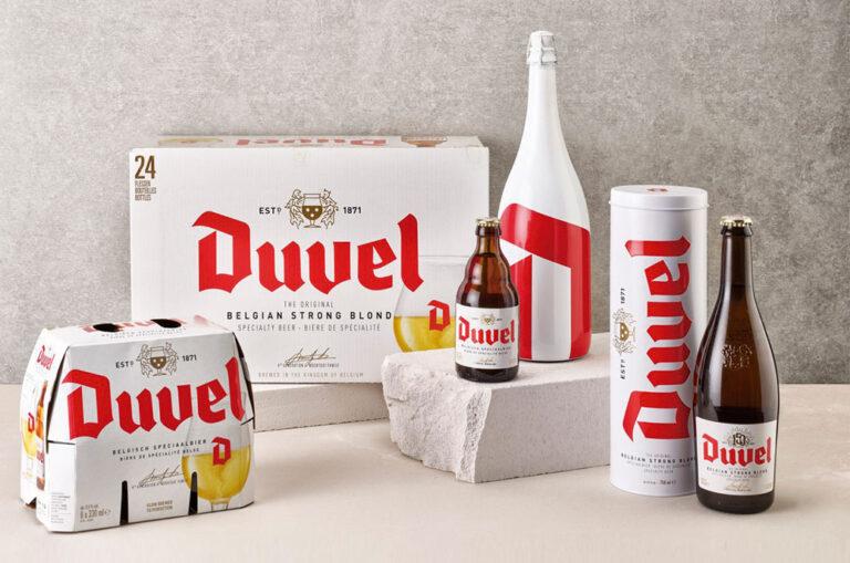 Quatre Mains conçoit le packaging pour Duvel