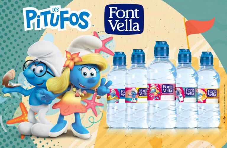 Font Vella Kids 水瓶中的蓝精灵明星