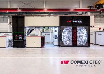 Comexi investit un million d'euros dans la rénovation de ses CTec de Gérone et de Miami