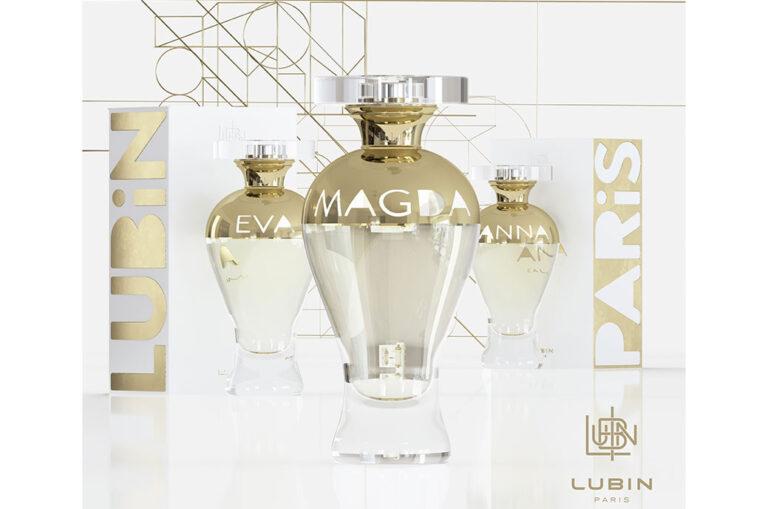 Prad schmückt Lubins Flasche für seine Kollektion Portraits de Femmes