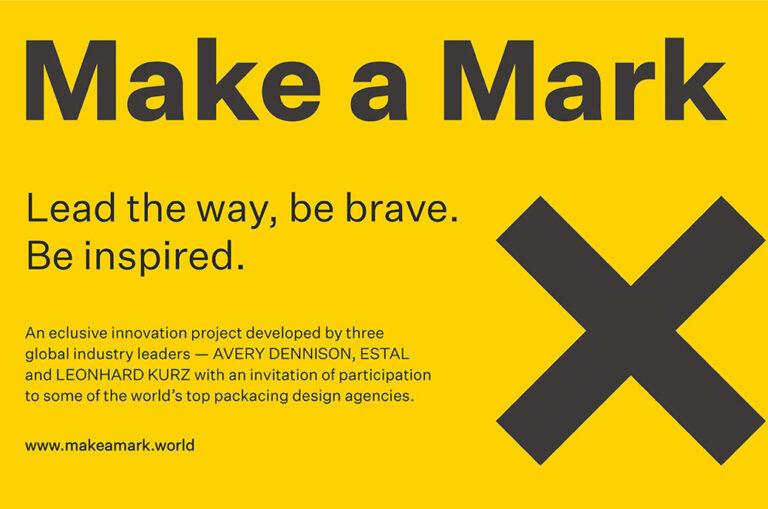 """艾利丹尼森、Estal 和 Leonhard Kurz 推出""""Make a Mark"""""""