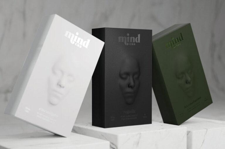 Mind CBD 的暗示性包装