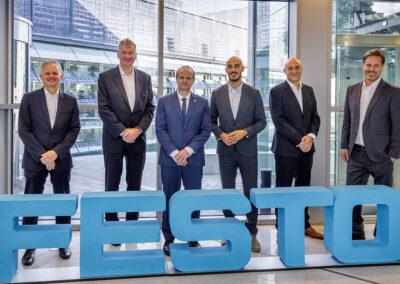Barcelona hosts the first Digital Sales Hub of Festo