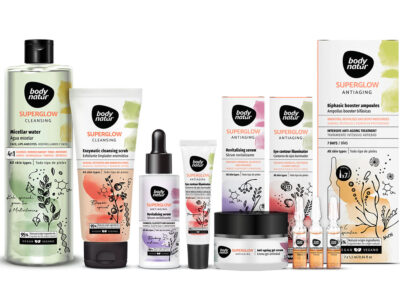 New Superglow Antiaging range from Body Natur