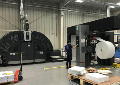Rodona invests in HP-T250 HD Brilliant Inks, the first in Spain