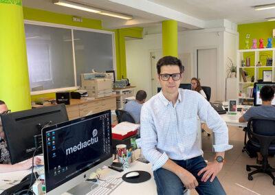 Jordi Tarrats, CEO Mediactiu